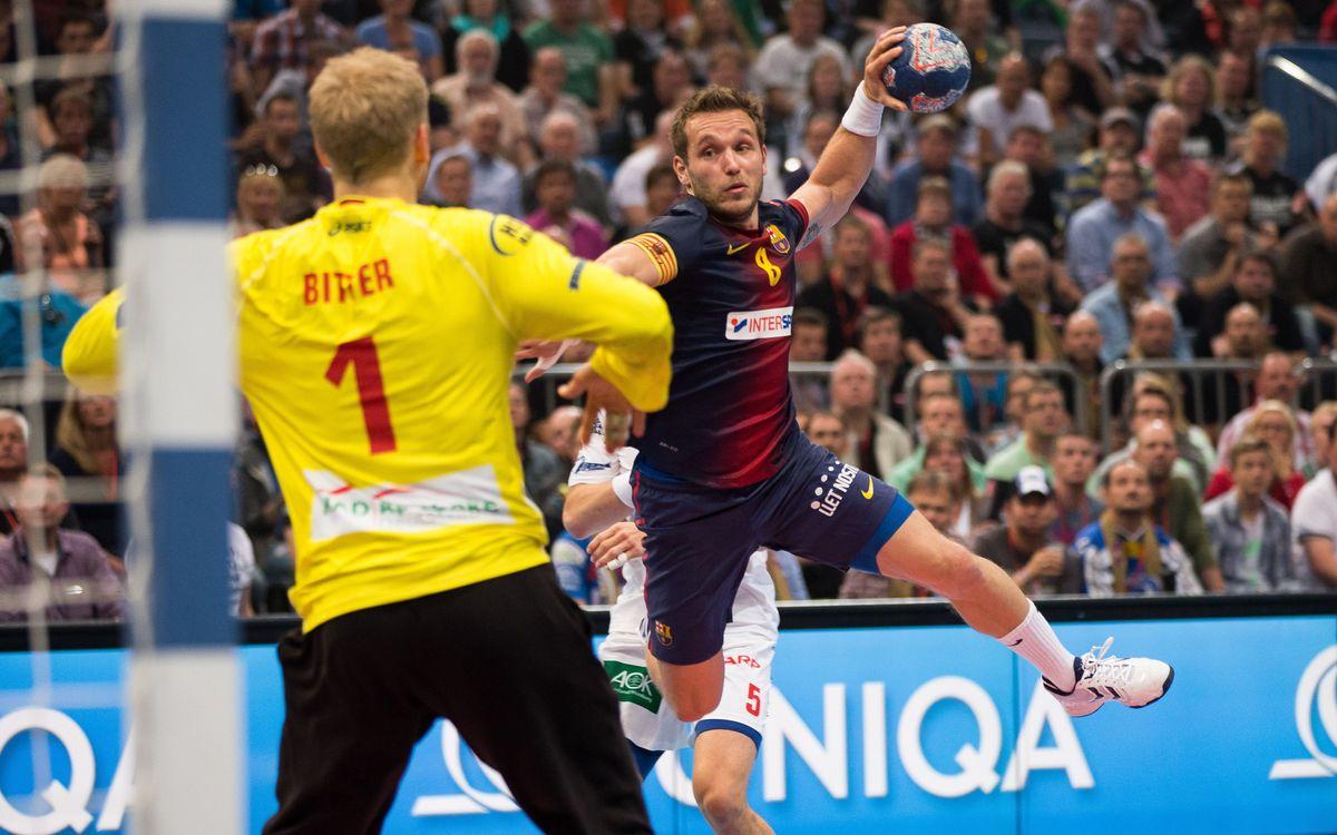 La dificultat de guanyar a Alemanya per al Barça d'handbol
