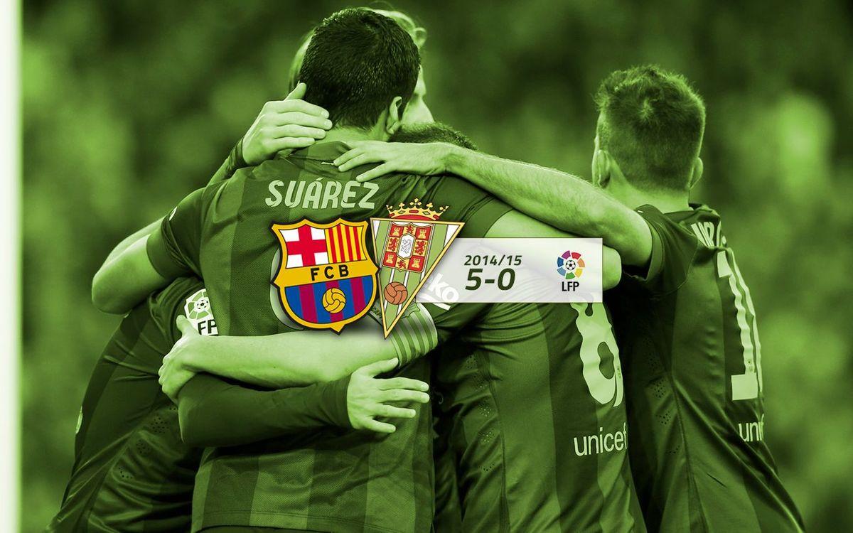 FC Barcelona: 5 - Còrdova CF: 0