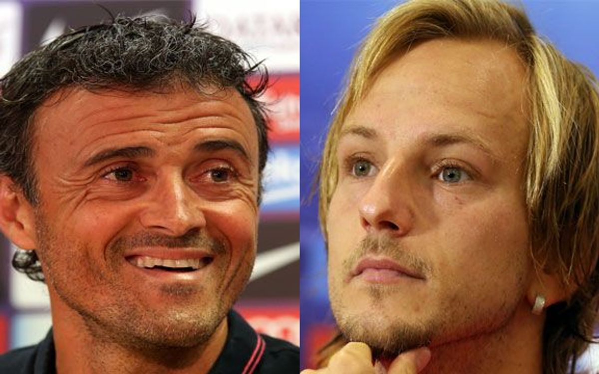 LIVE / Ivan Rakitic and Luis Enrique press conference