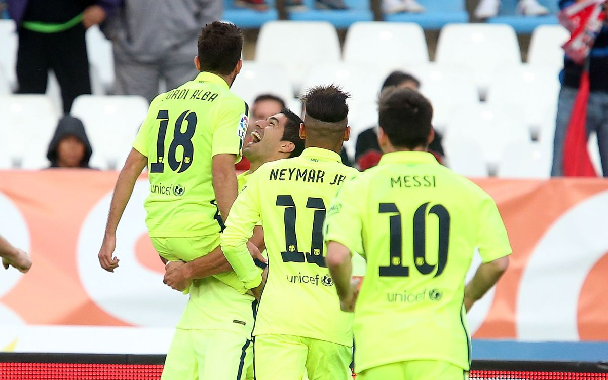 UD Almeria v FC Barcelona (1-2): Barça make late comeback and win