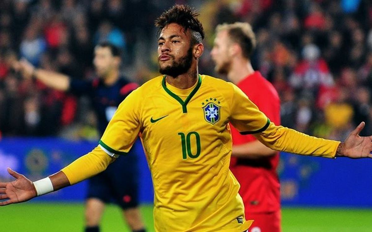 Neymar double helps Brazil to easy win over Turkey
