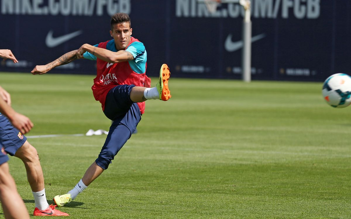 Week with five training sessions and a match at El Madrigal