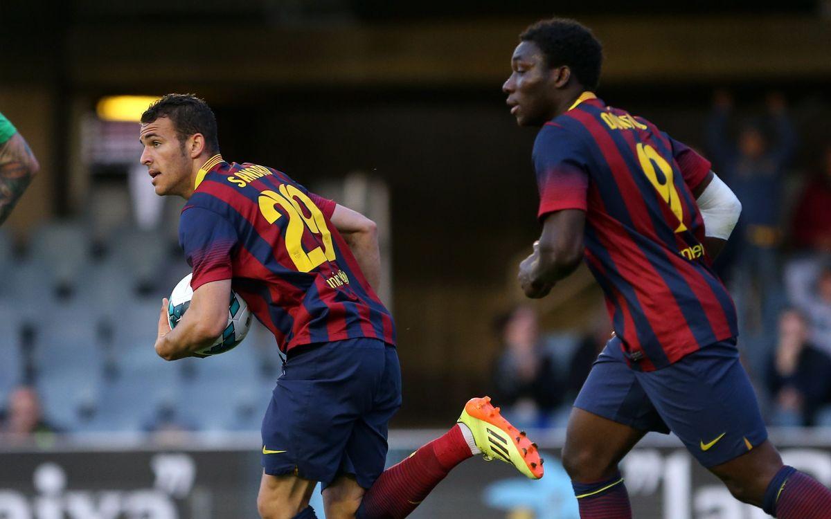 Los líderes estadísticos del Barça B