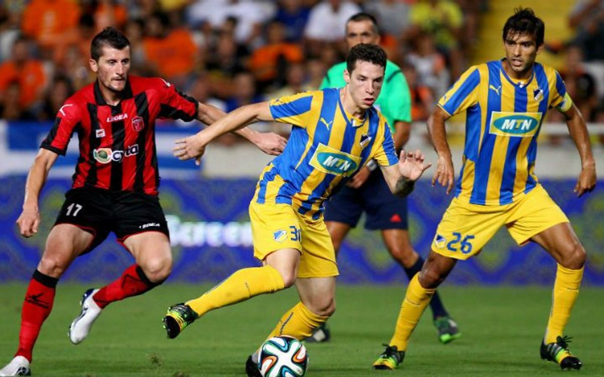 APOEL win ahead of trip to Camp Nou