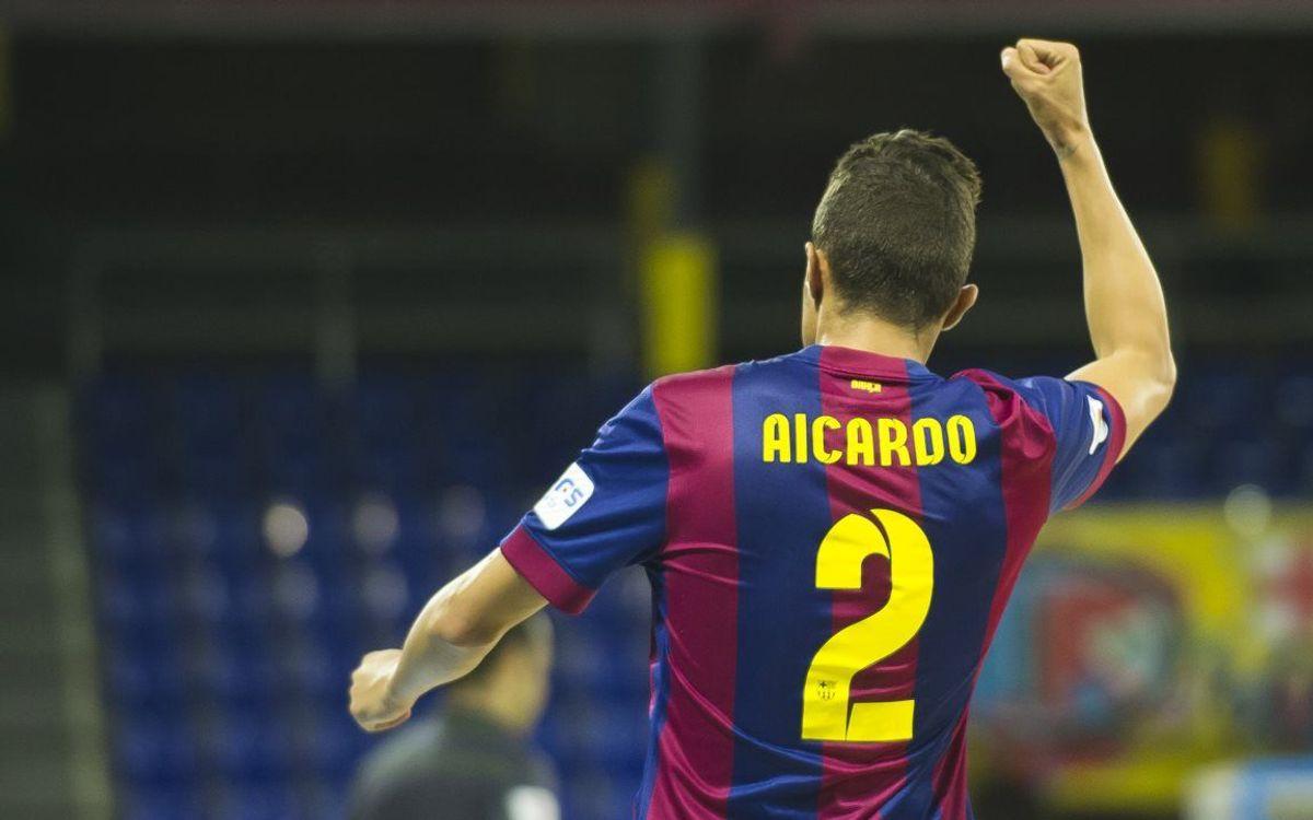 DIRECTE / FC Barcelona - Santiago Futsal