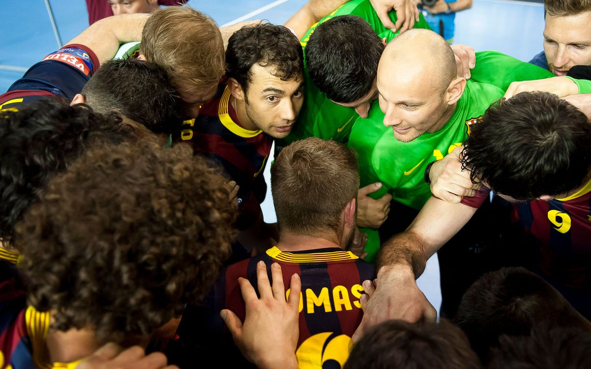 FC Barcelona Handball's daily plan for the Final Four in Cologne
