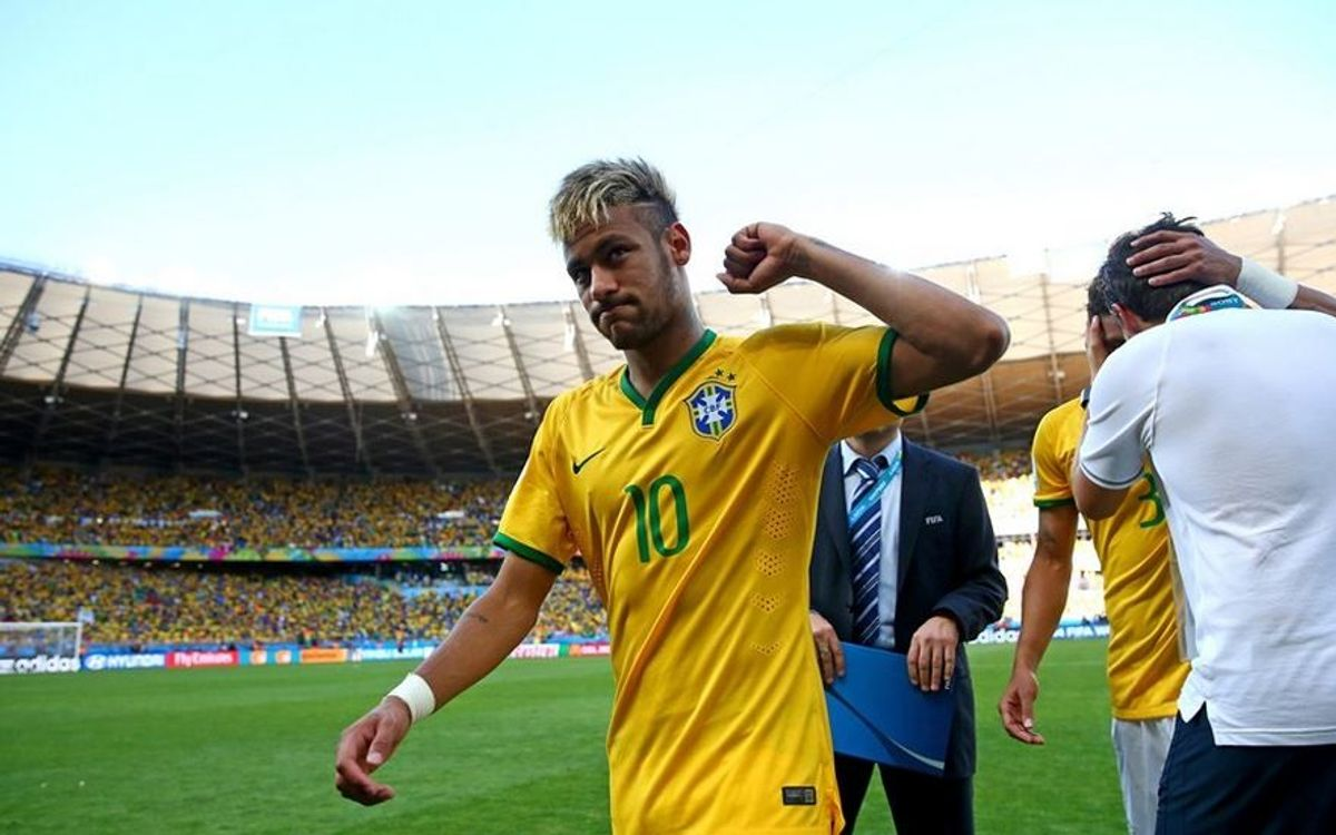 Neymar and Dani Alves chase semi final place