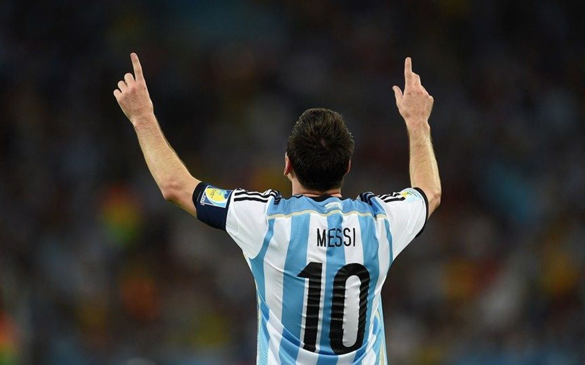 Leo Messi leads Argentina to victory over Bosnia Herzegovina (2-1)
