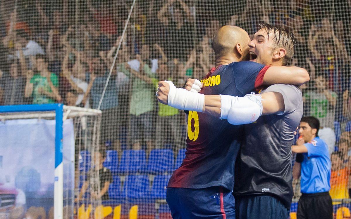 El Barça Alusport ha aconseguit 12 victòries en 15 eliminatòries al play-off