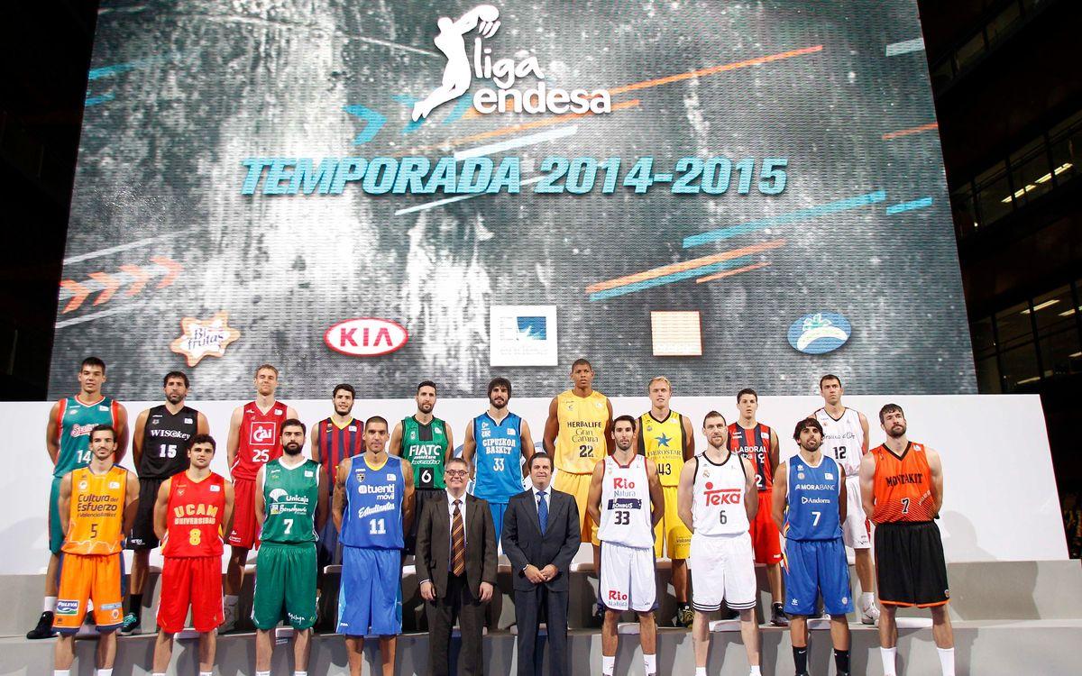 La Lliga Endesa 2014/15, presentada oficialment