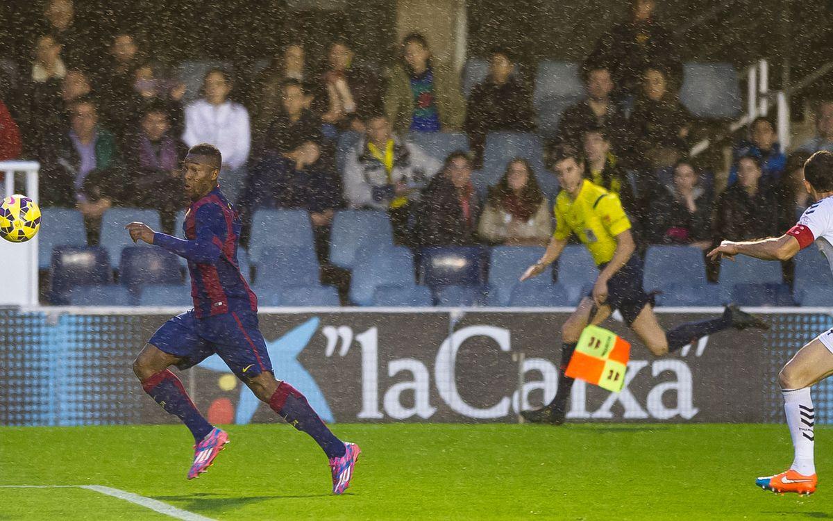 FC Barcelona v Albacete: Beaten in the rain (1-2)