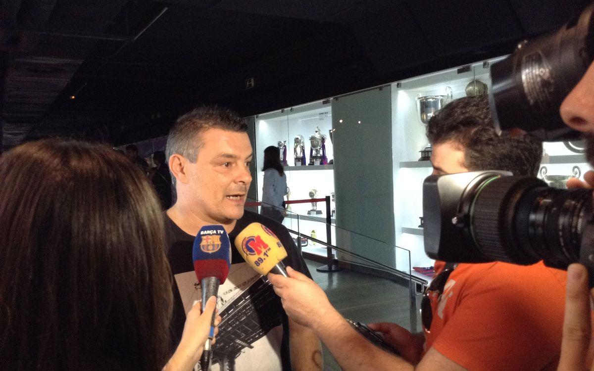 """Xavi Pascual: """"Puente Genil és un equip amb l'estil de Barbeito"""""""