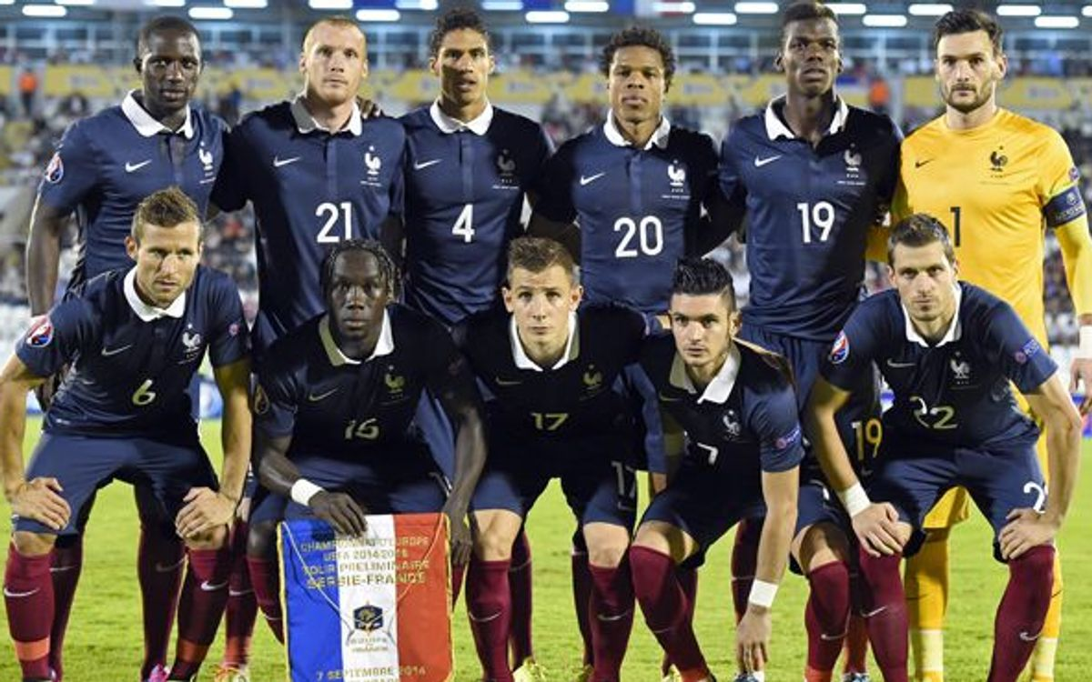 Mathieu plays full 90 minutes for France