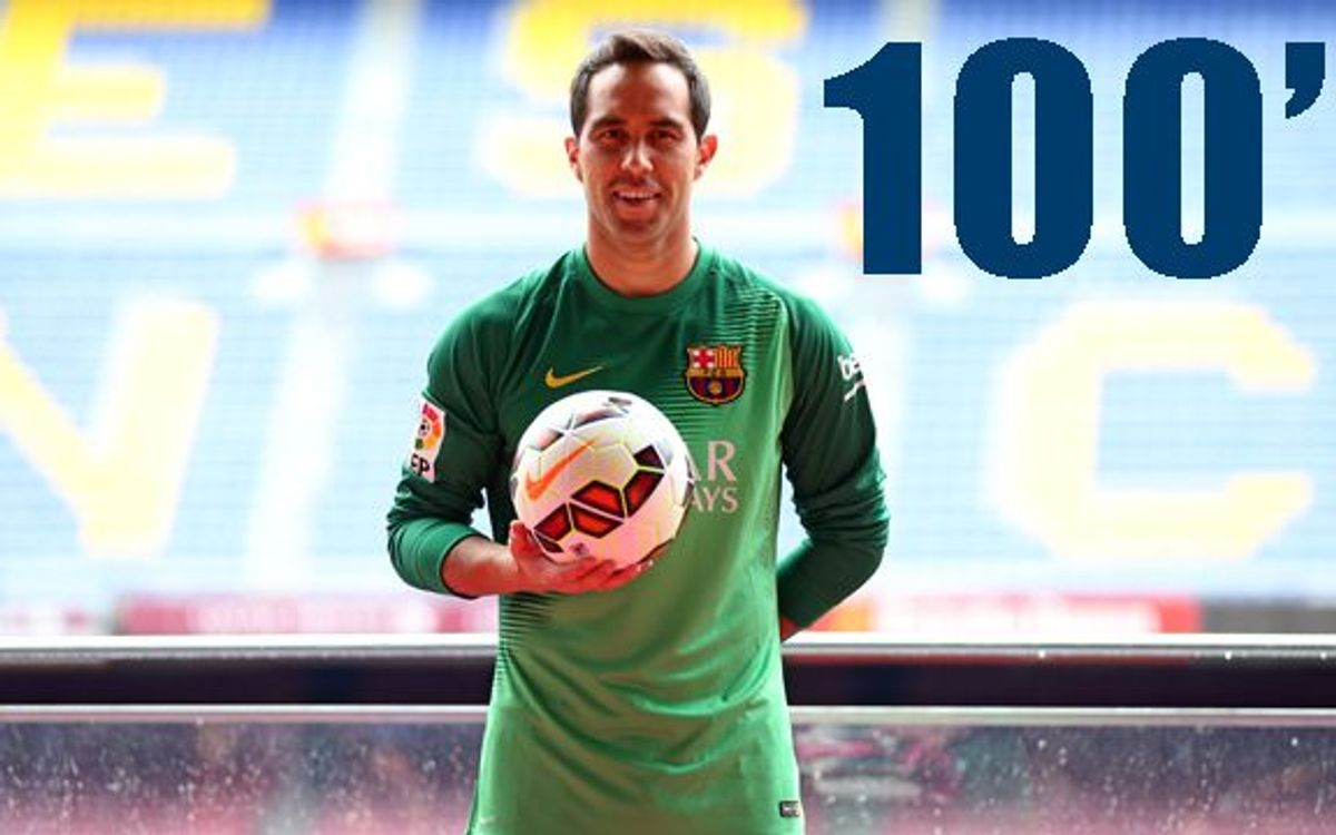 Claudio Bravo's presentation in 100 seconds