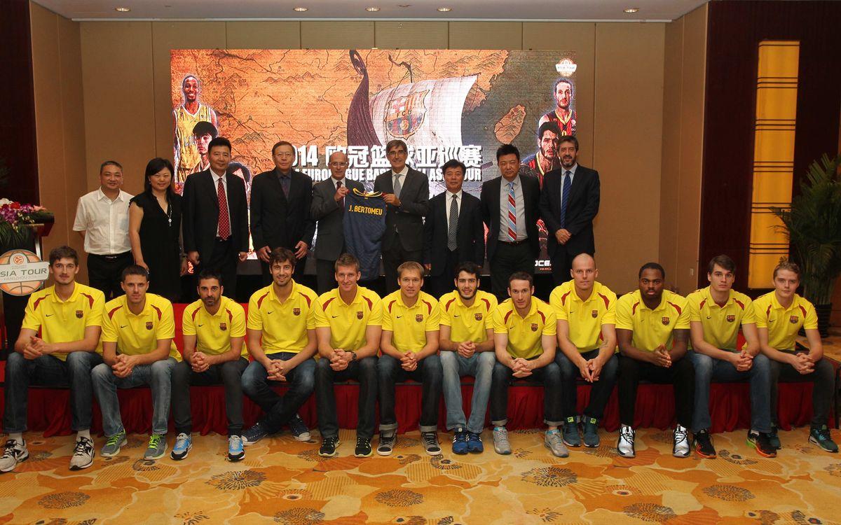 L'Asia Tour de l'Eurolliga s'obre amb un Lions-Barça