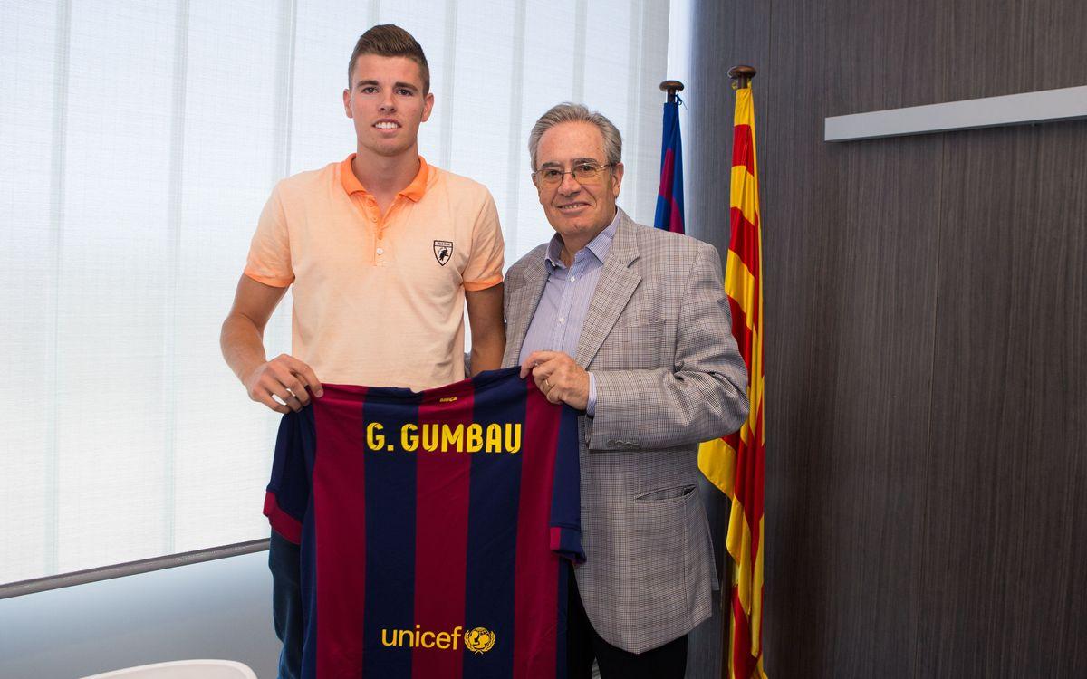 Gerard Gumbau firma hasta el 2017: