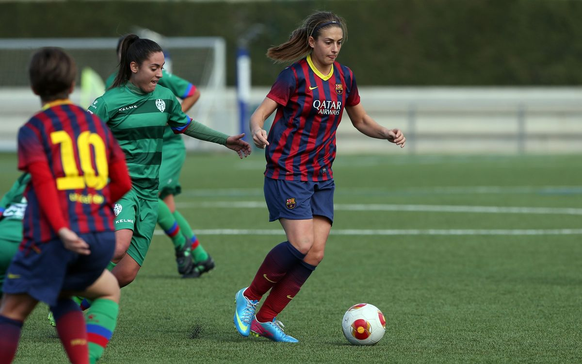FC Barcelona – Llevant: Alexia's goal is worth three points (1-0)