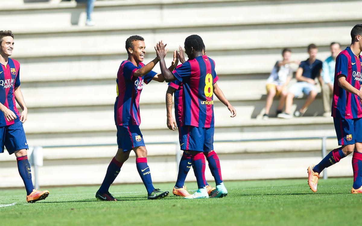 Juvenil A – Lleida Esportiu: Victòria efectiva (5-0)