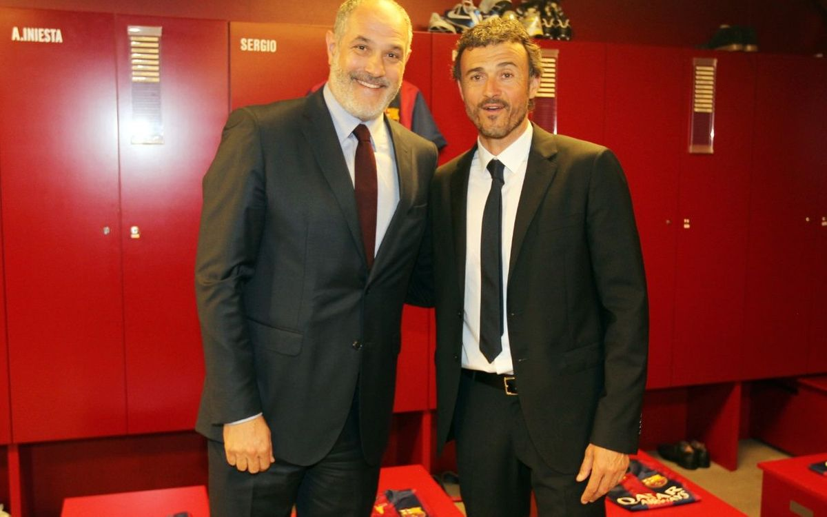 LIVE- Zubizarreta and Luis Enrique press conference