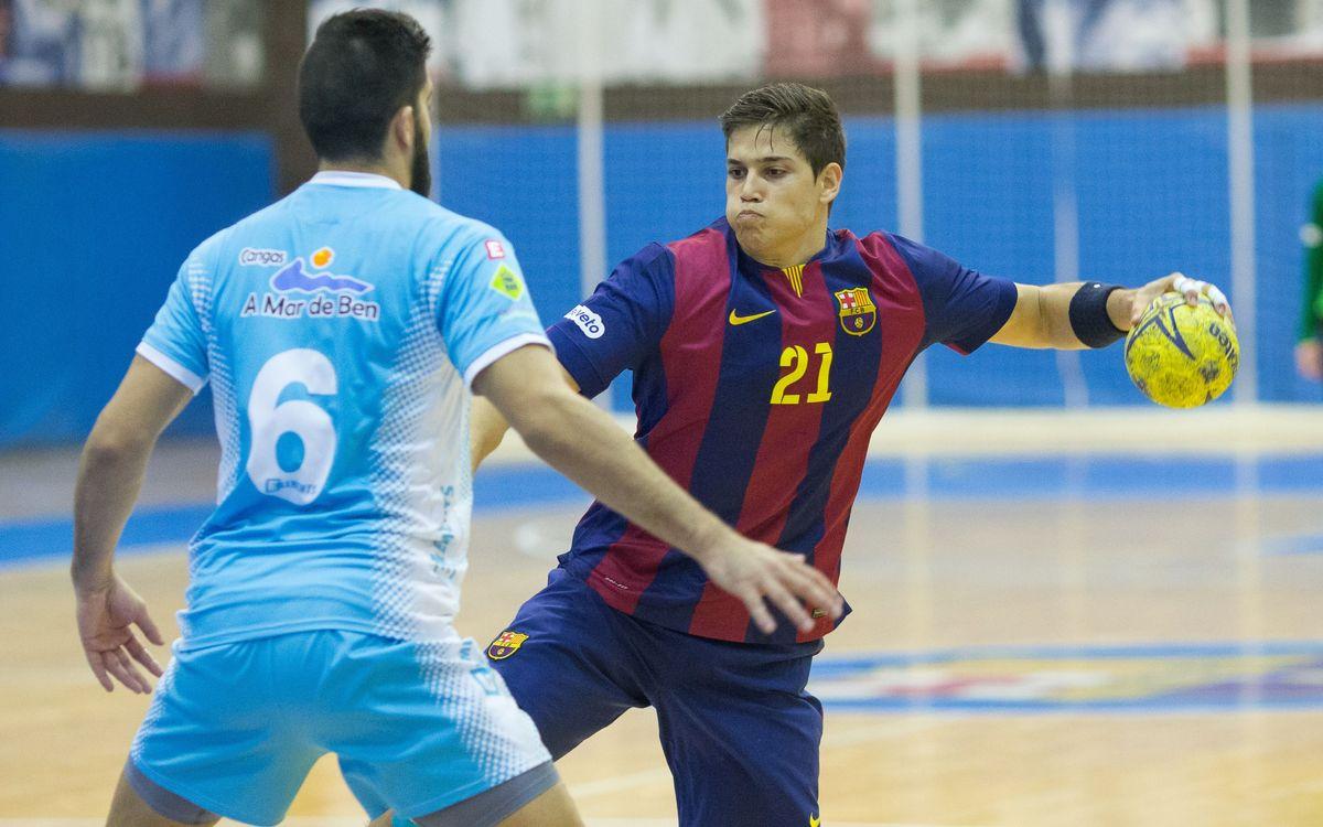 La il·lusió torna a la Ciutat Esportiva per al Barça B d'handbol