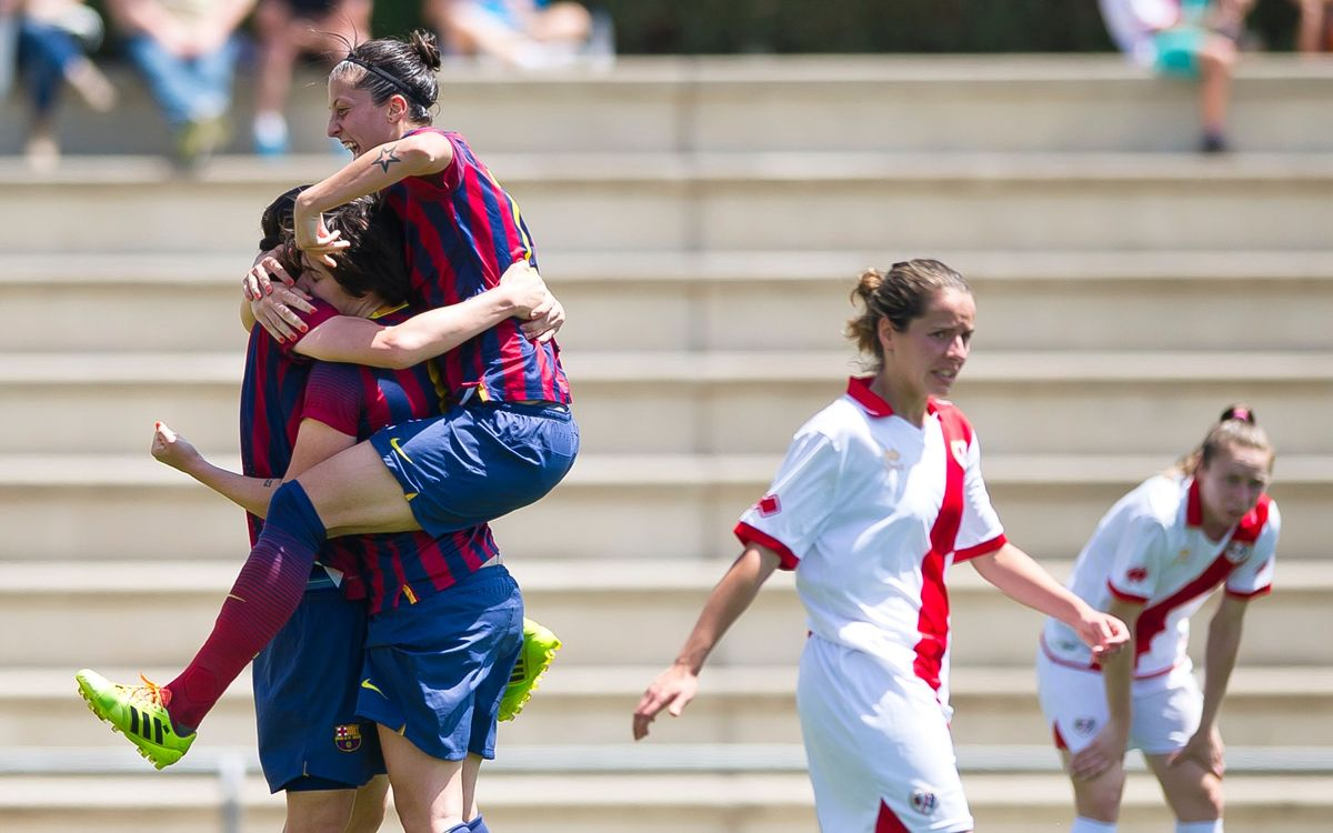 Rayo Vallecano v Womens A: Into the cup final (0-1)