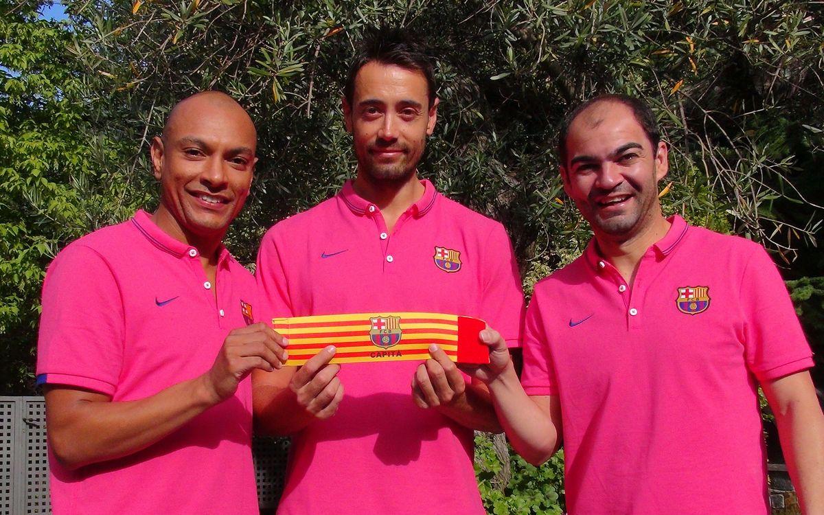 Sedano, Ari y Wilde, los nuevos capitanes del equipo