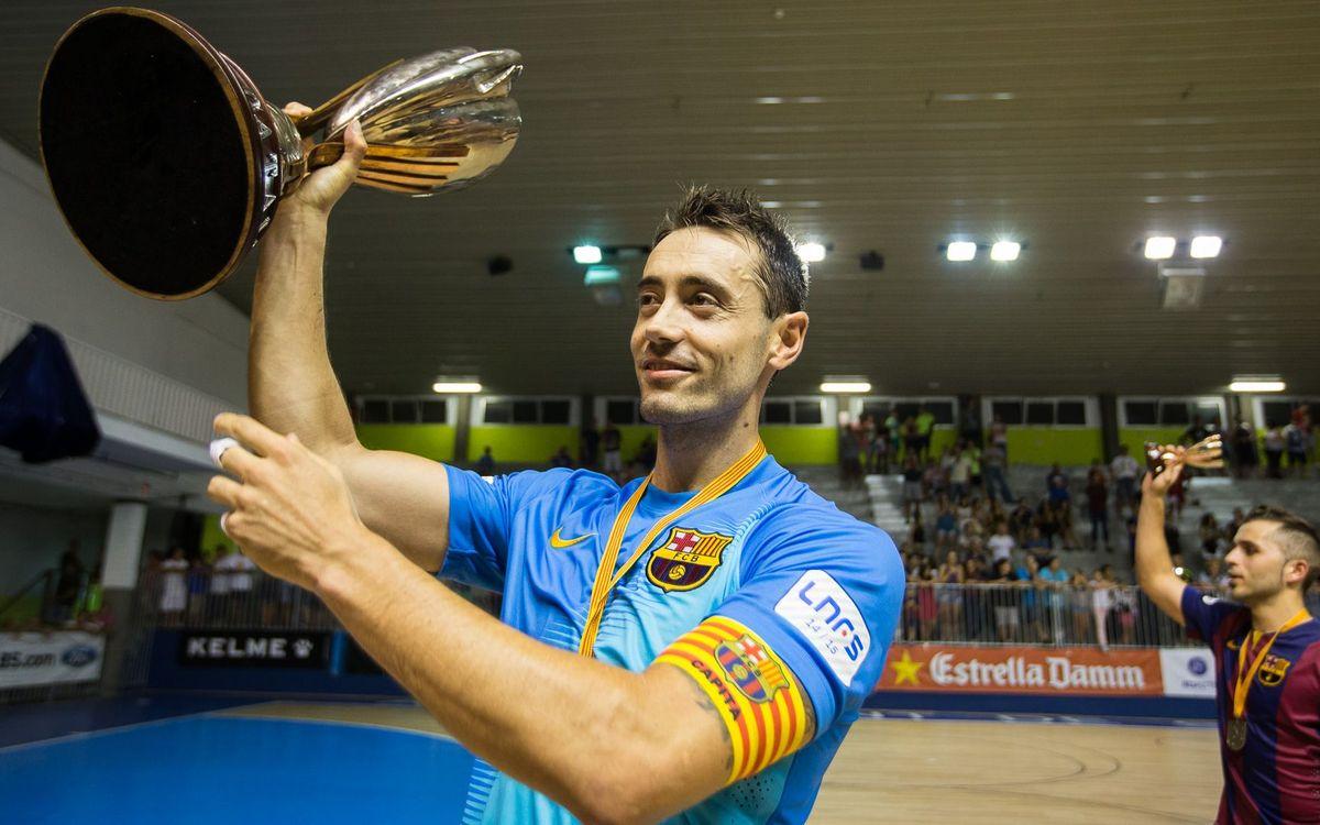 Paco Sedano torna a ser convocat amb la selecció espanyola