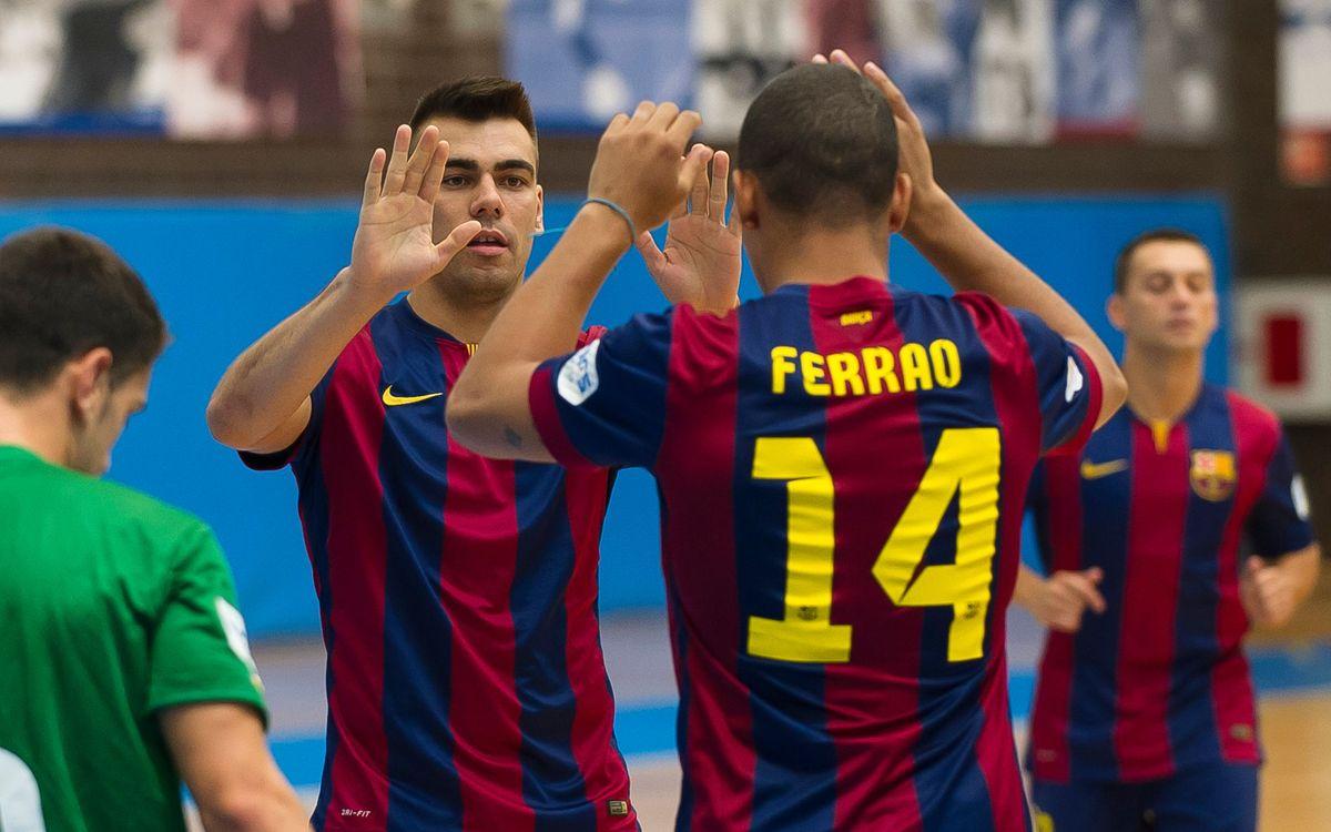 El Barça suma otra victoria contra el Levante UD DM