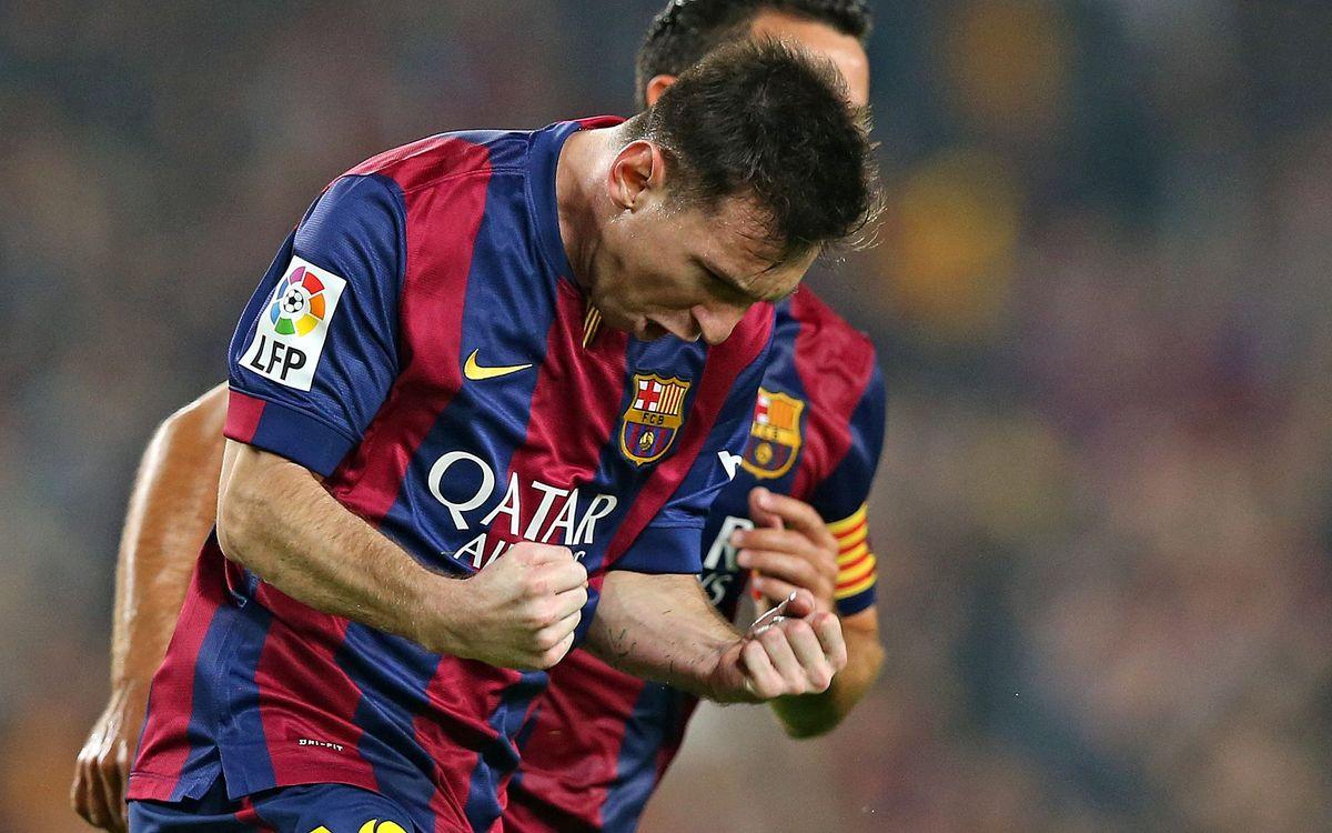 Leo Messi's top 10 goals in La Liga