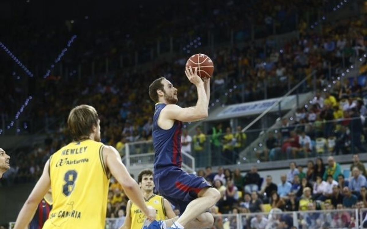 Herbalife Gran Canaria - FC Barcelona: Huertas leads Barça to victory (74-82)