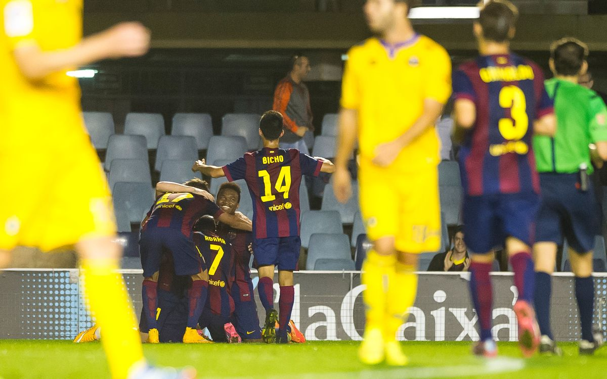 Barça B v Alcorcón: Back to winning ways (4-1)