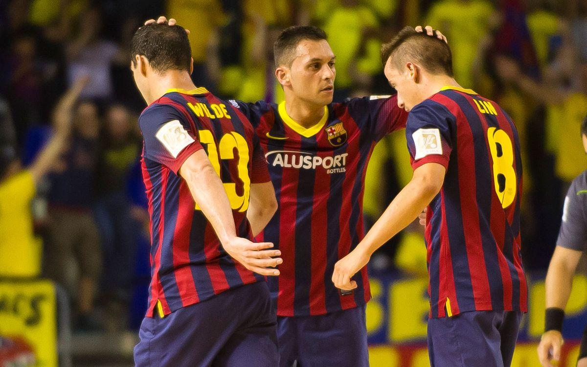 El Barça Alusport vol aprofitar el primer 'match ball'