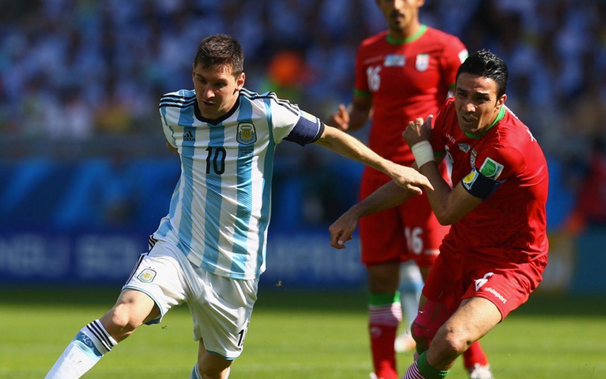 Messi libère l'Argentine (1-0)