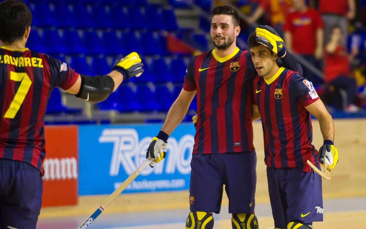 El Barça i el Noia Freixenet s'enfrontaran el dimecres 9 d'abril a les 19.30 hores