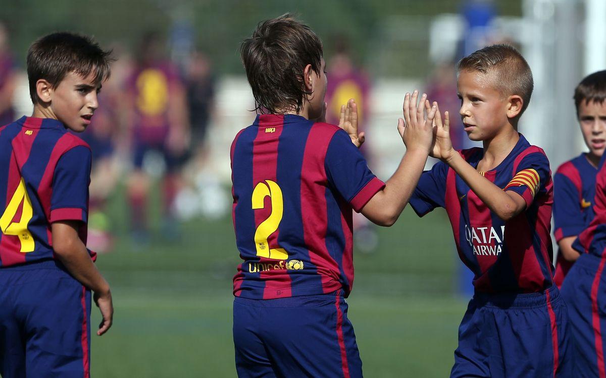 El fútbol formativo hace un pleno con 17 victorias