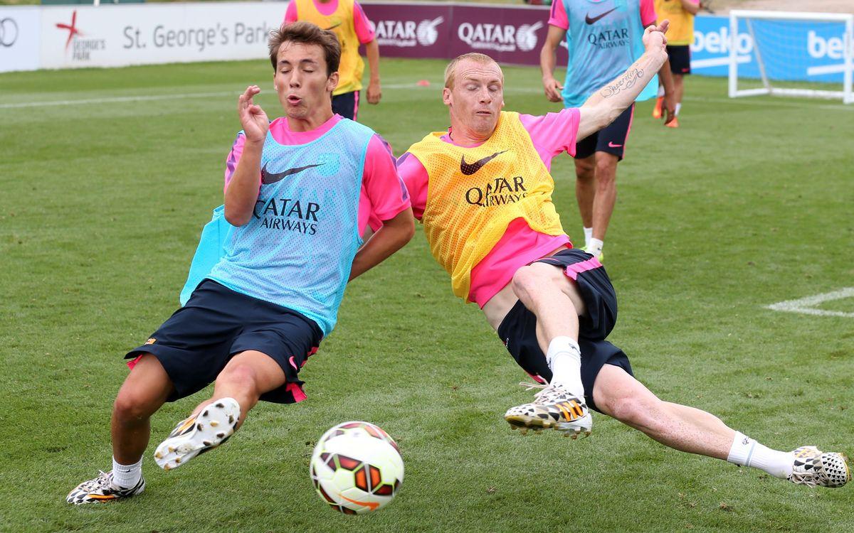 Good atmosphere in training