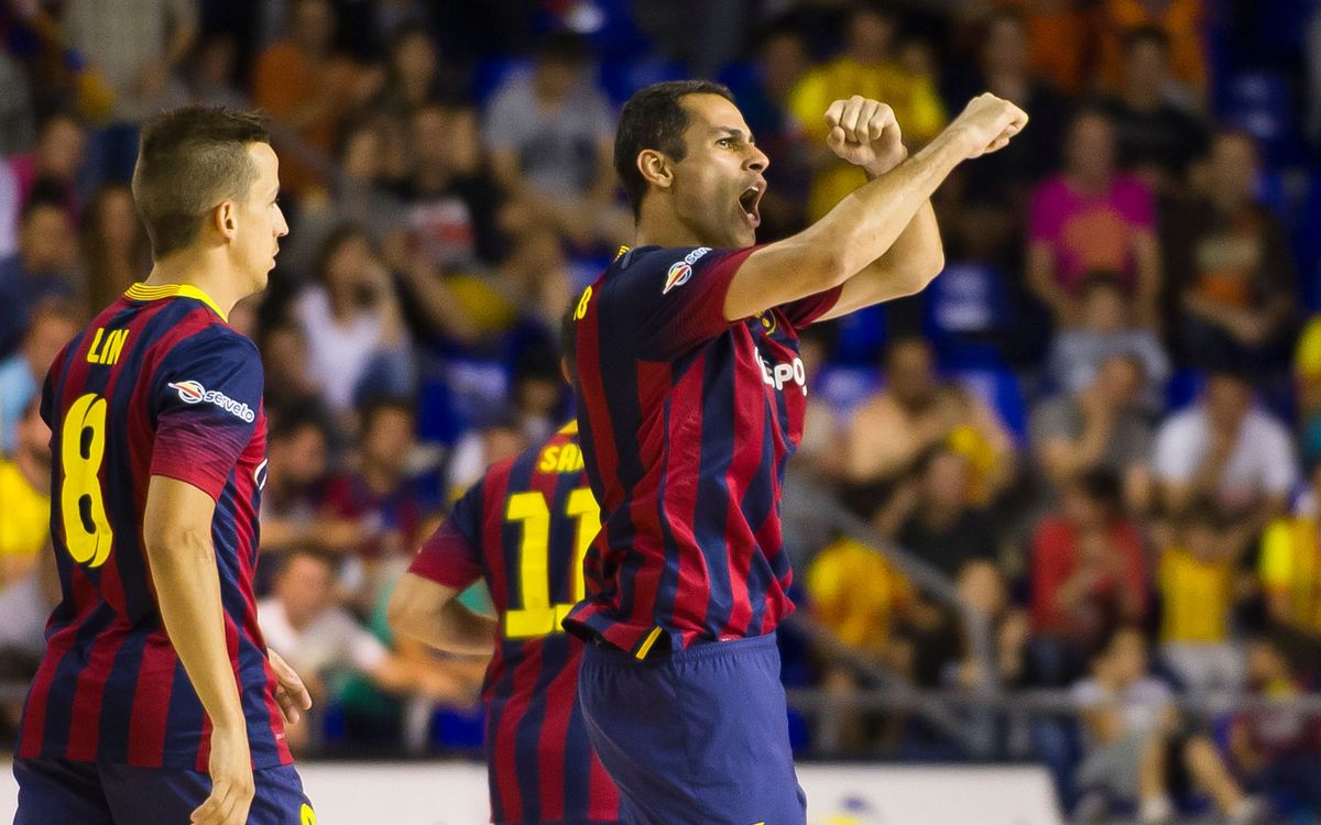 FCB Alusport-ElPozo Múrcia: The Blaugrana take the first bout (4-1)
