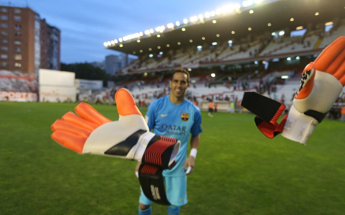 More records on the horizon for Claudio Bravo