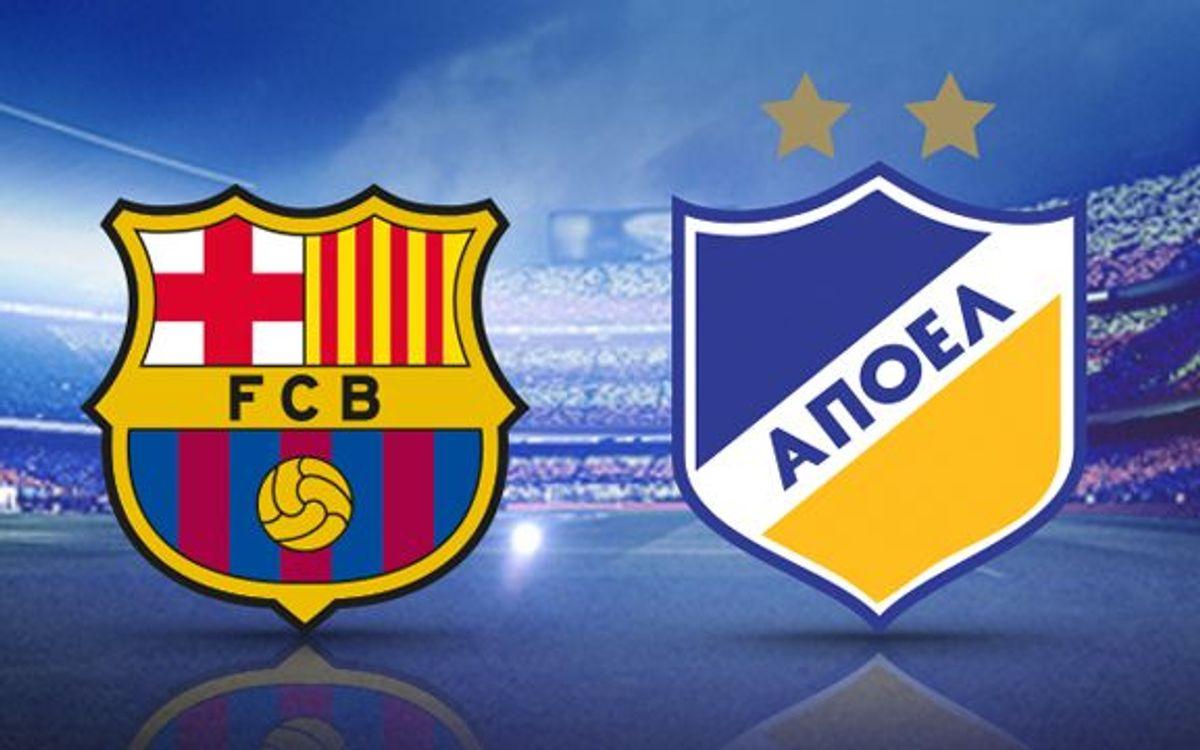 FC Barcelona v APOEL FC: Did you know?