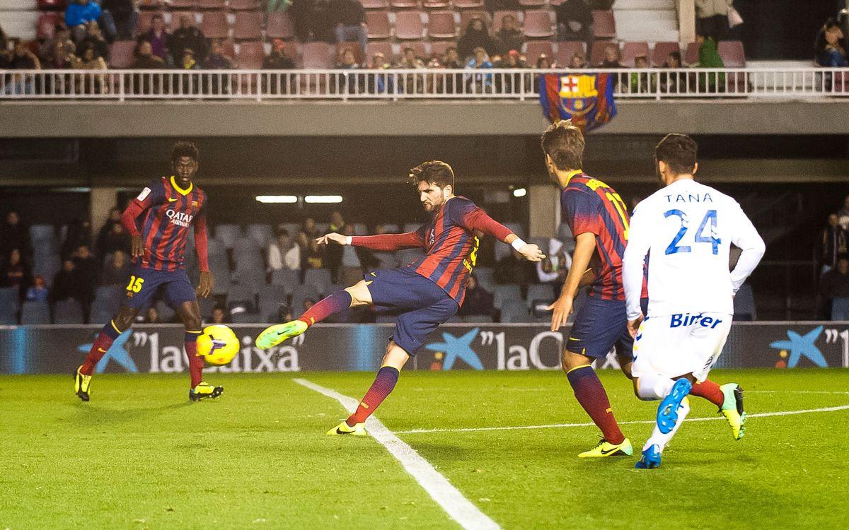 Las Palmas-Barça B: Duel a la part alta