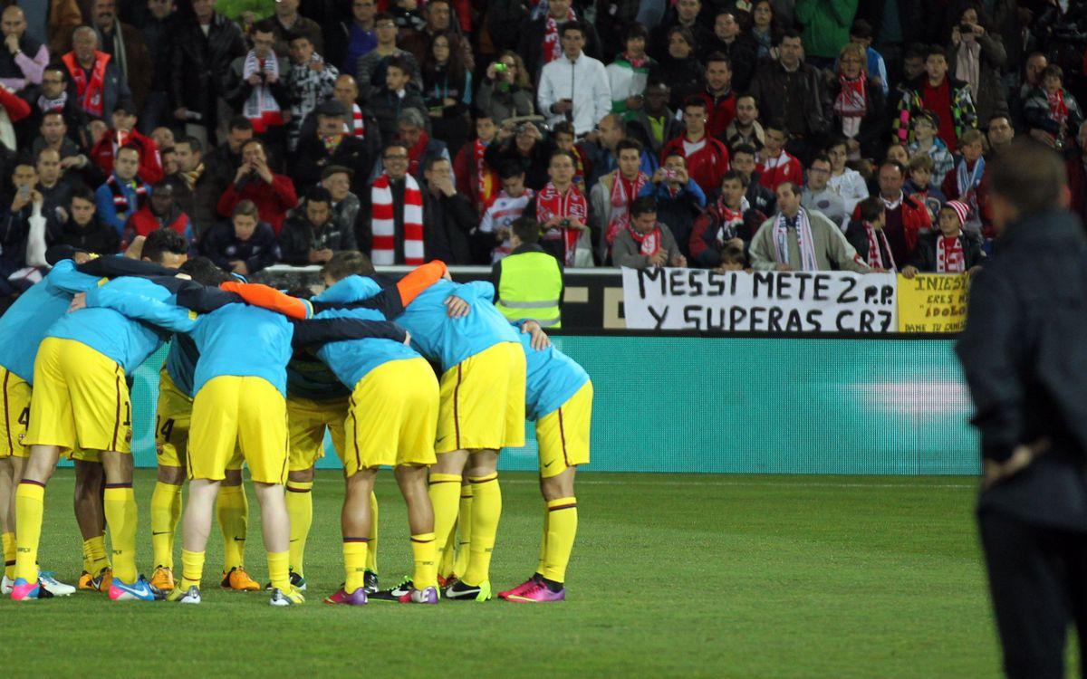 El Barça a Granada, en tres moments a la història de la Lliga