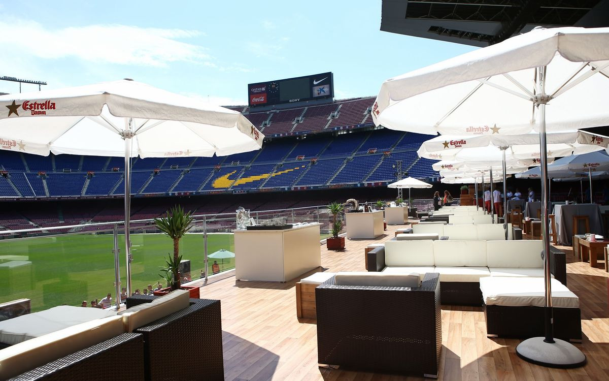 Inauguration of the Camp Nou Lounge, a new way to savour Barça
