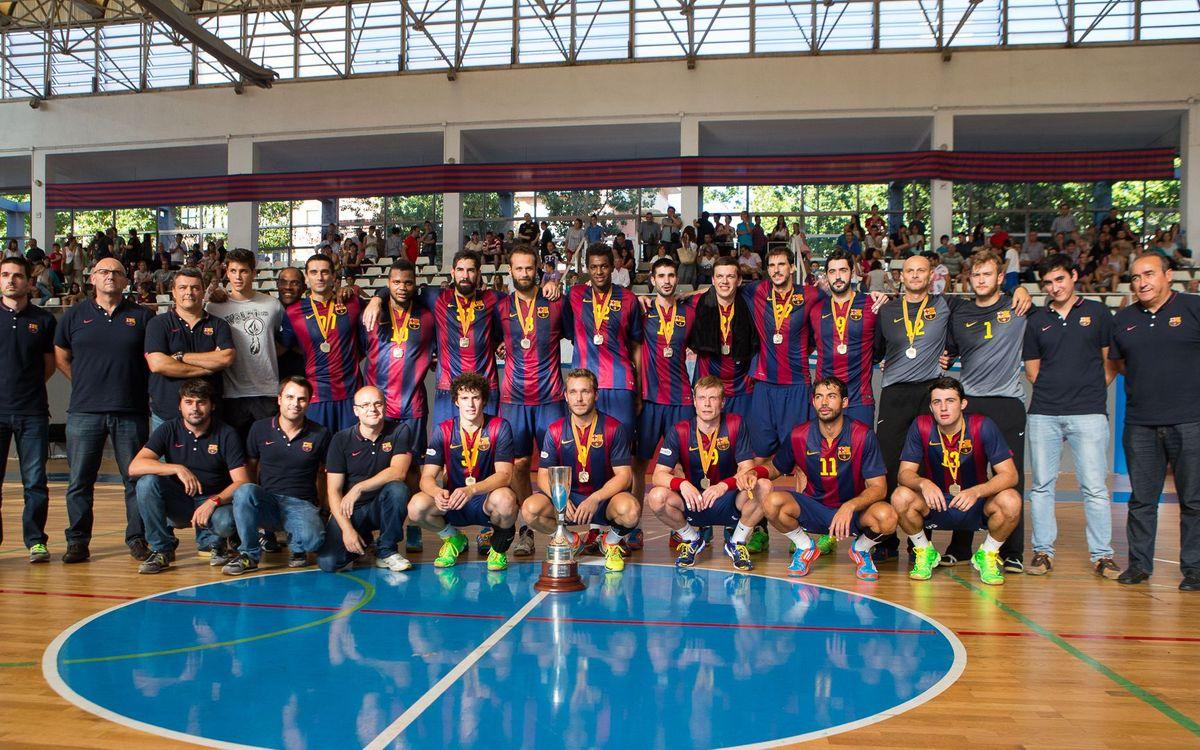 26º título catalán para el Barça de balonmano