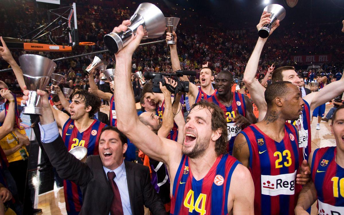 Cinquena Final Four en els últims sis anys