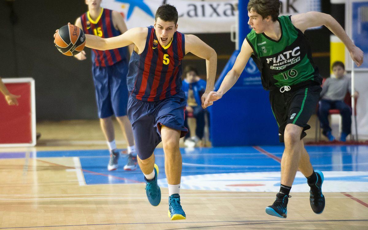 El Barça, quinto en el Campeonato de España junior