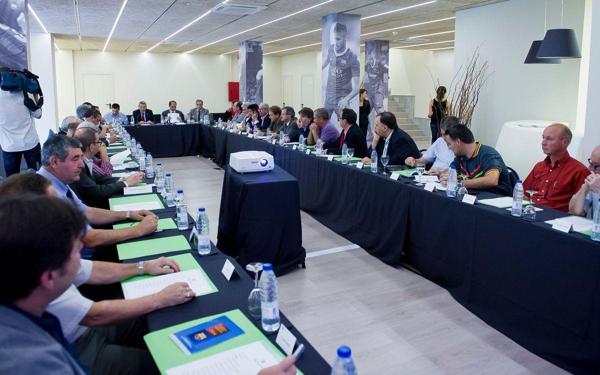 El Consell s'estrena a l'Assemblea de Compromissaris