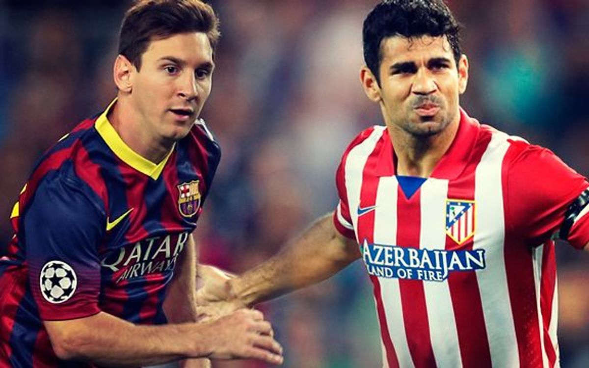 Clash of titans: Leo Messi v Diego Costa