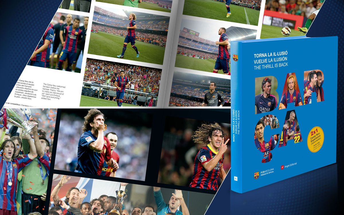 Barça 2014-15: presentation of the team