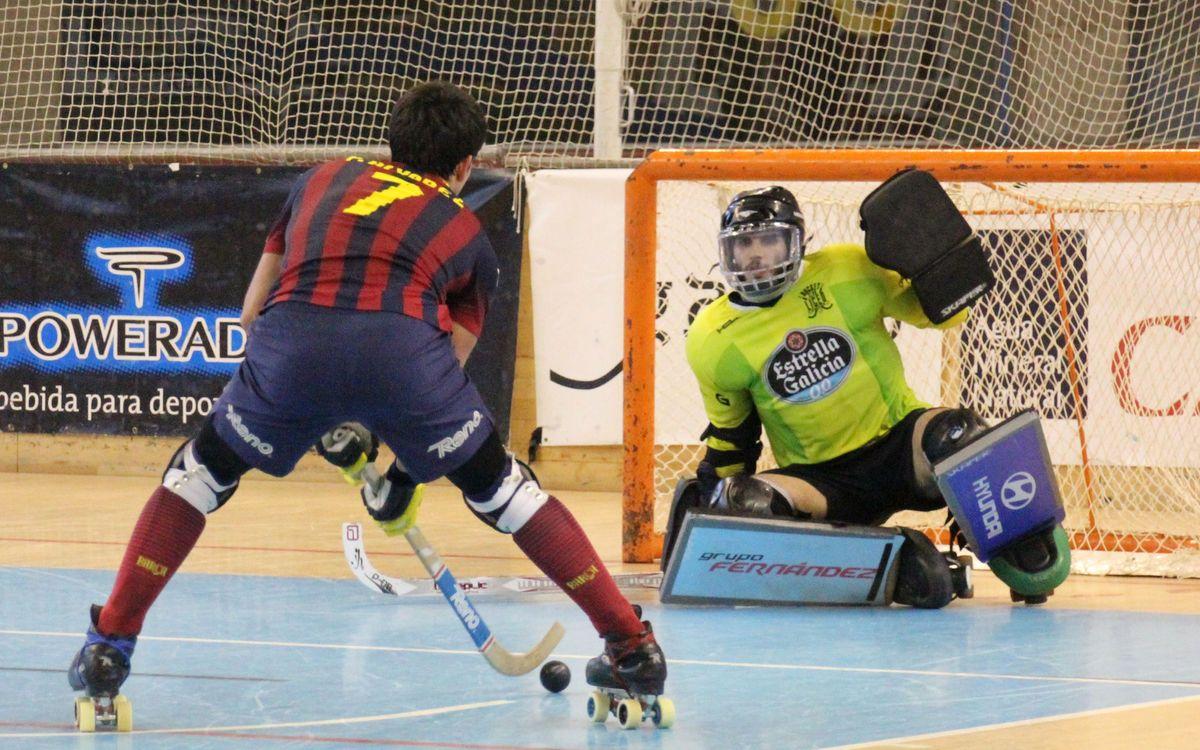 HC Liceo - FC Barcelona: Derrota sobre la bocina (5-4)