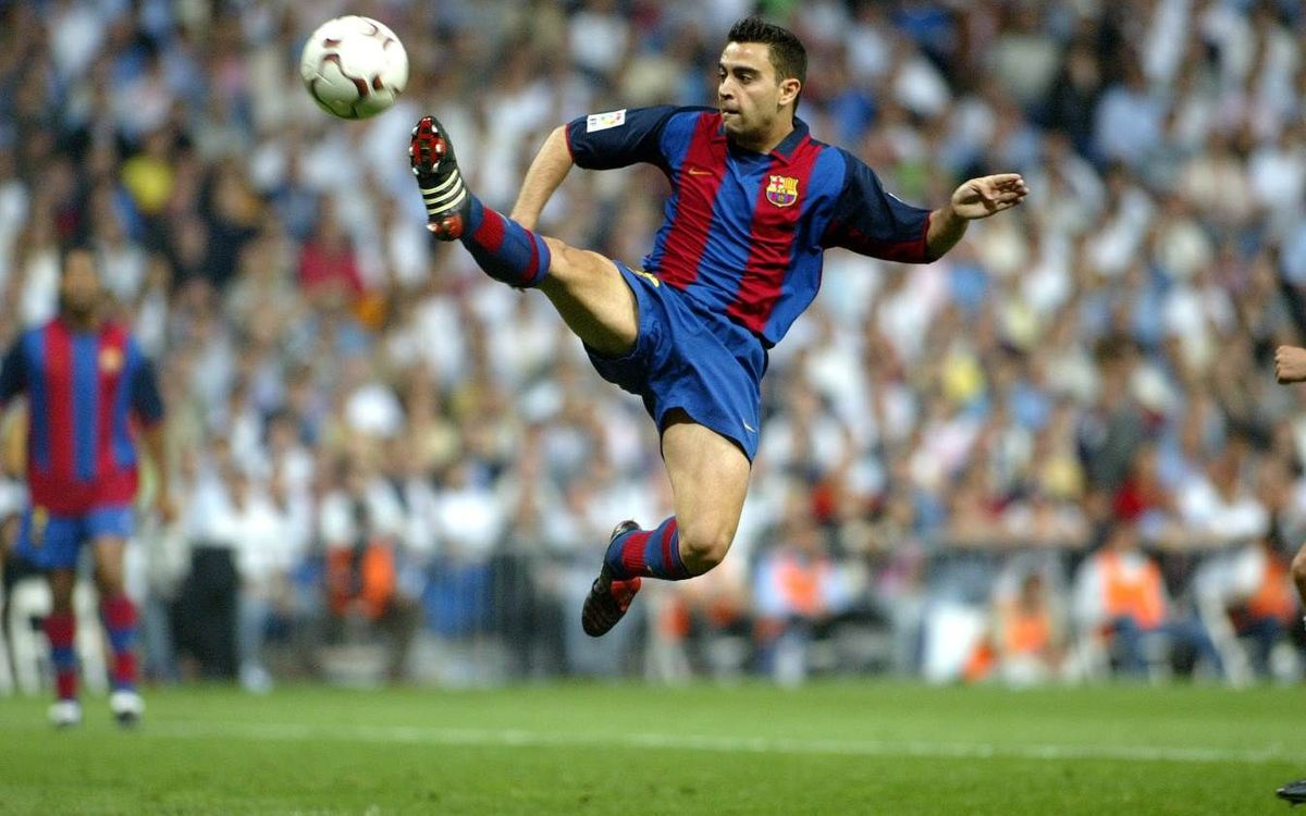 Xavi, a Liga legend at FC Barcelona